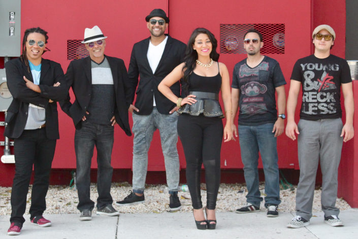 Brazilian Samba band promo shot